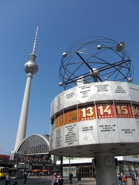 Berlin, Tv Tower, Architecture, Germany, Landmark