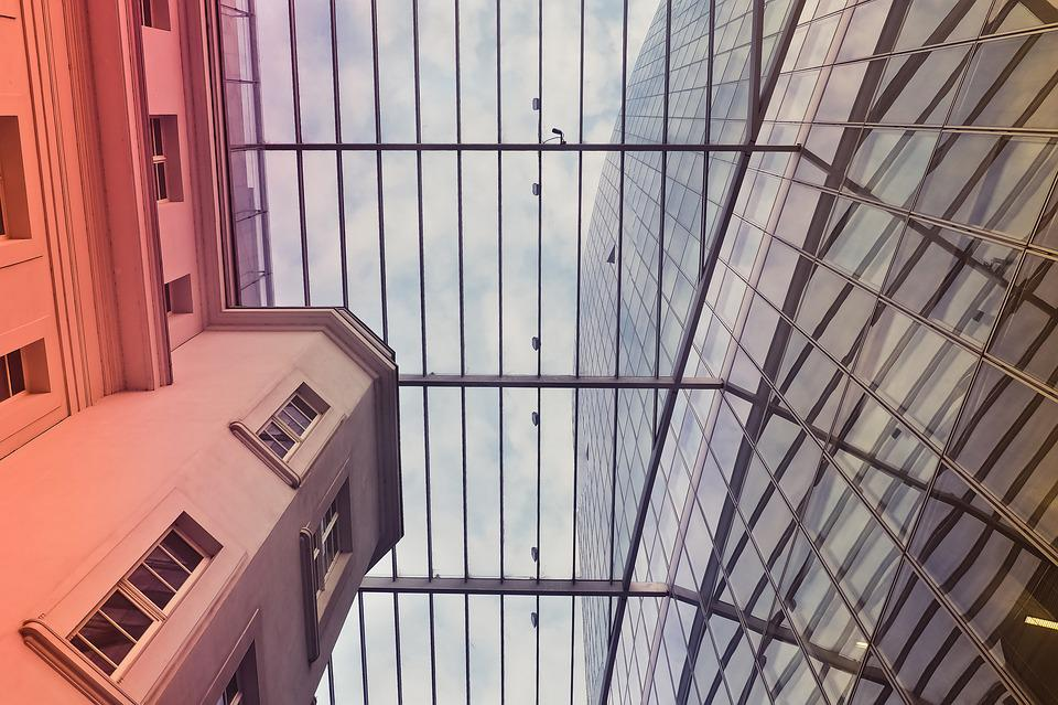 Free Photo Architecture Glass City Sky Urban Window Building Max Pixel