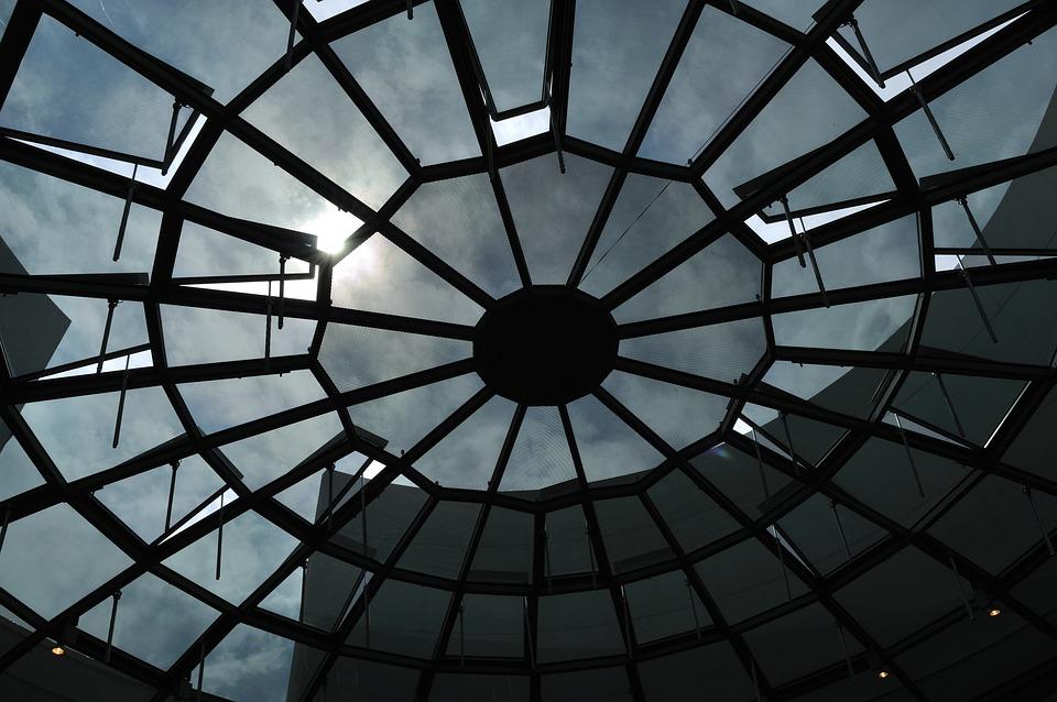Dome, Glass Dome, Oldenburg, Architecture, Glass