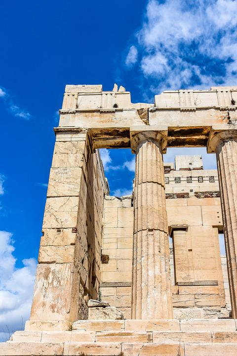 free photo architecture greece ancient acropolis greek athens max