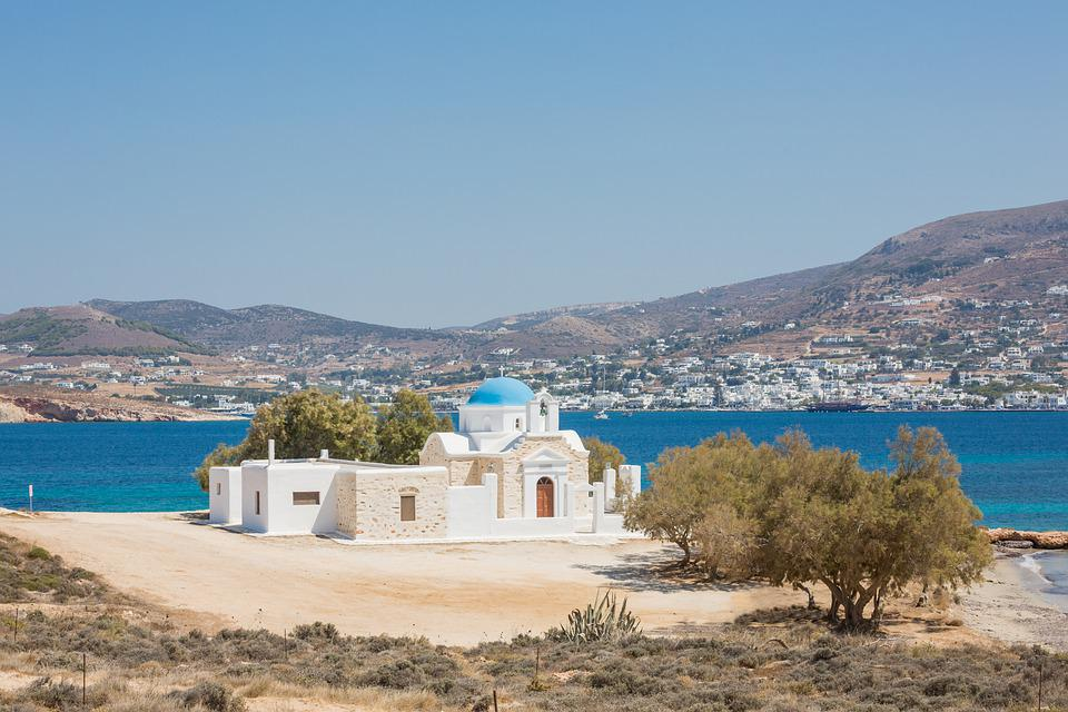 Greek, Building, Vacation, Greece, Architecture