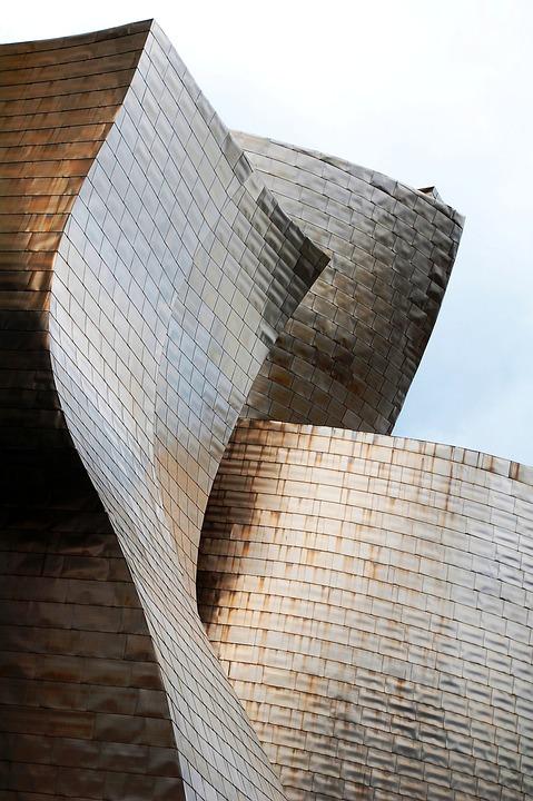 Architecture, Guggenheim, Bilbao, Modern