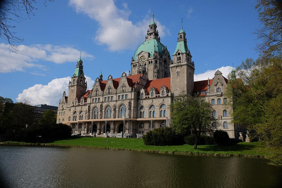 Hanover, Hannover Rathaus, Town Hall, Architecture