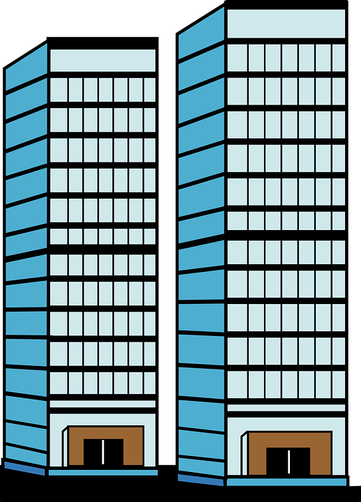 Skyscrapers, Height, Door, Windows, Architecture