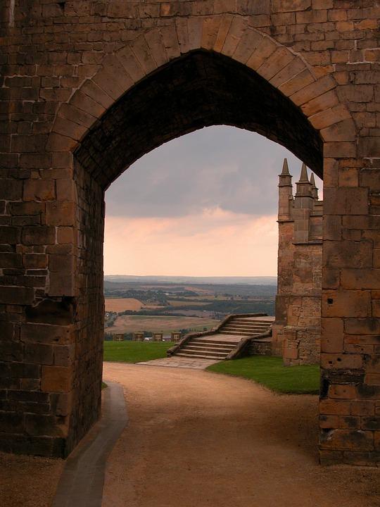 Castle, England, Architecture, Stone, Historic