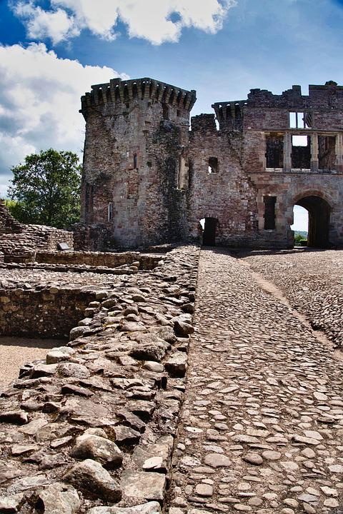 Castle, Ruin, Historical, Fortification, Architecture