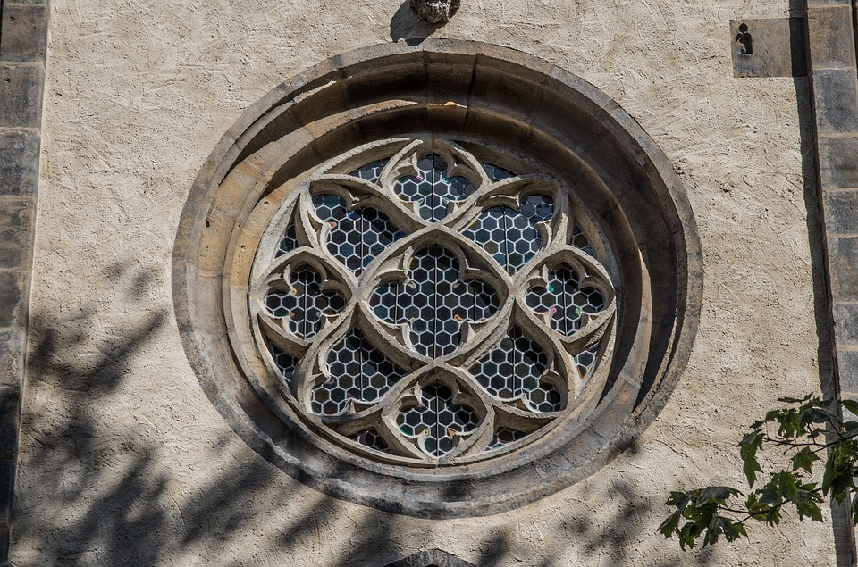 Church Window, Gothic, Historically, Architecture