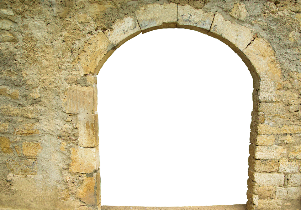 Goal, Round Arch, Historically, Old, Architecture