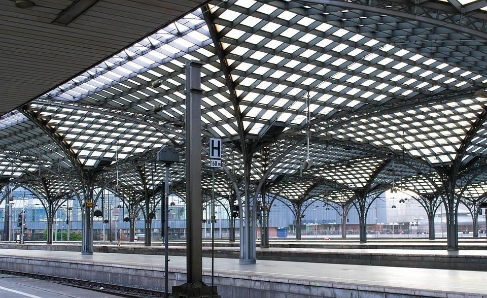 Railway Station, Platform, Historically, Architecture