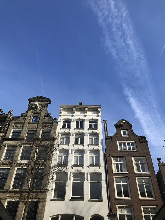 Amsterdam, Houses, Netherlands, Architecture, Holland