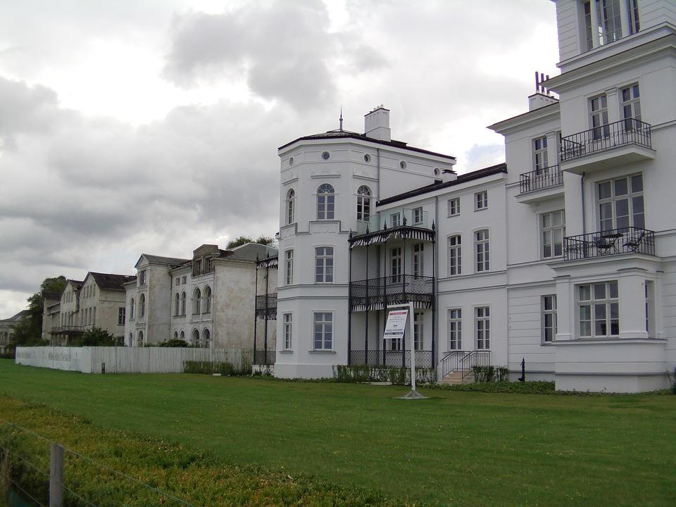 Heiligendamm, Building, Home, Housewife, Architecture