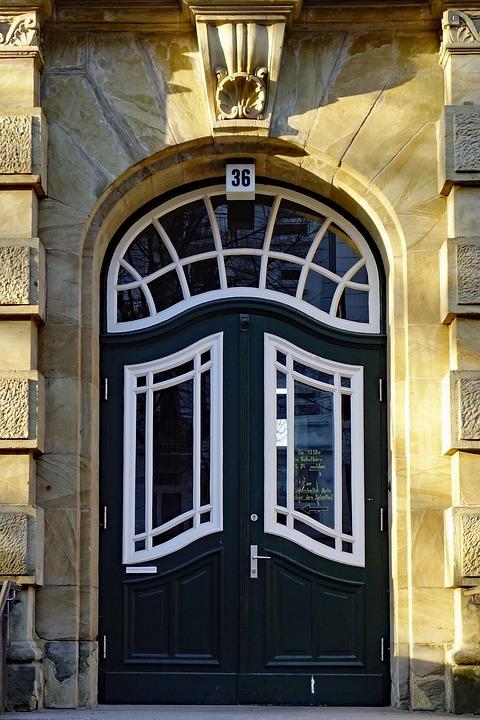 Door, Front Door, Architecture, Home, School