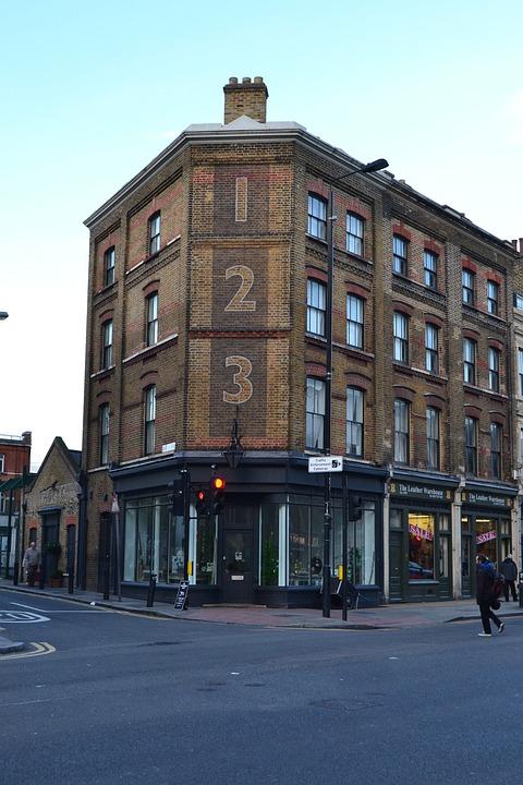 London, Home, Road, Architecture, England, Facade