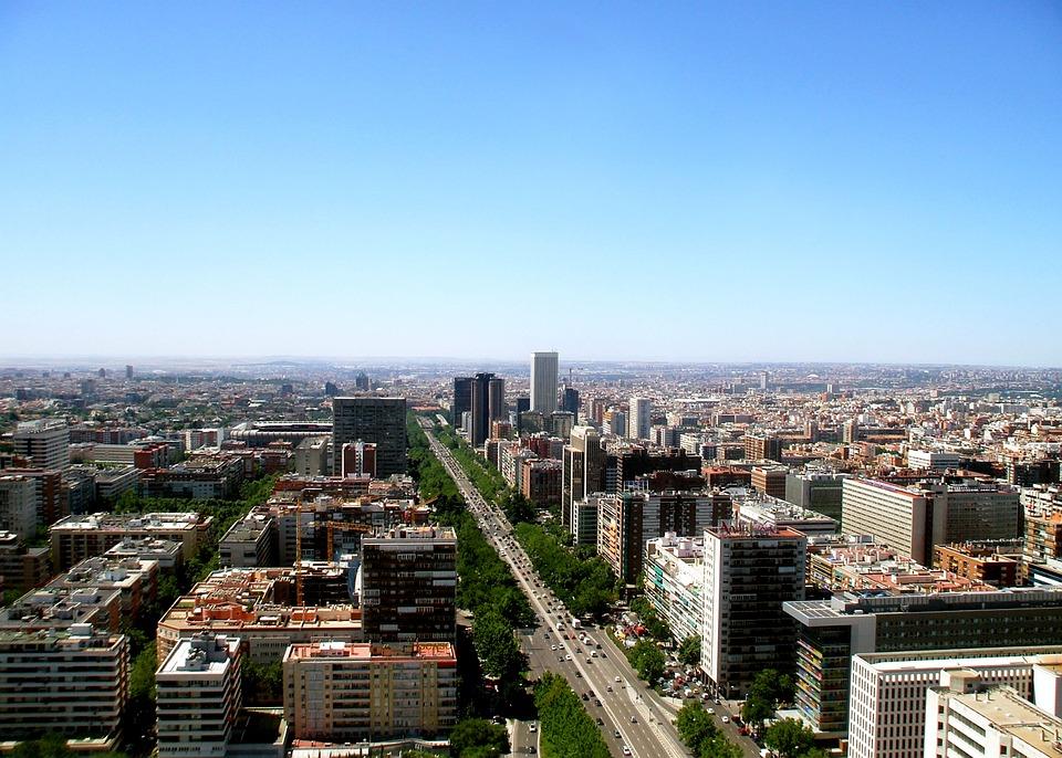 Urban Landscape, City, Horizon, Architecture, Panoramic