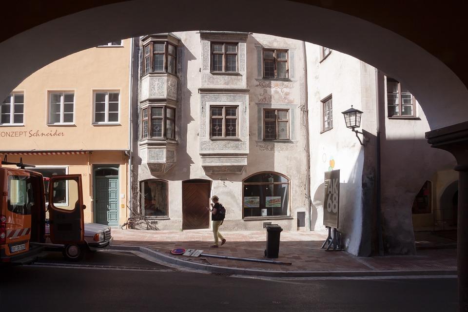 City, Houses, Arcades, Renaissance, Architecture