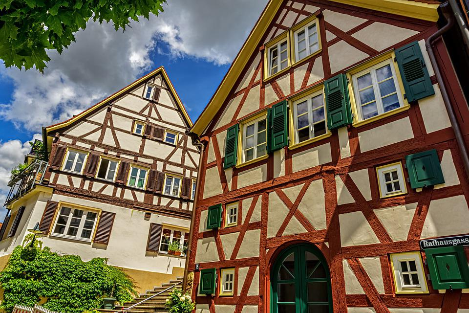 Building, Houses, Architecture, Old, Germany, Tradition