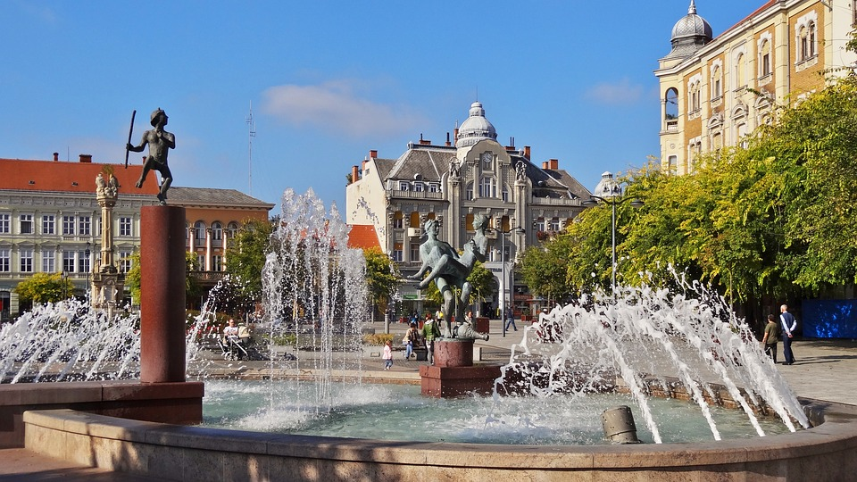Hungary, Szombathely, Building, Old, Architecture