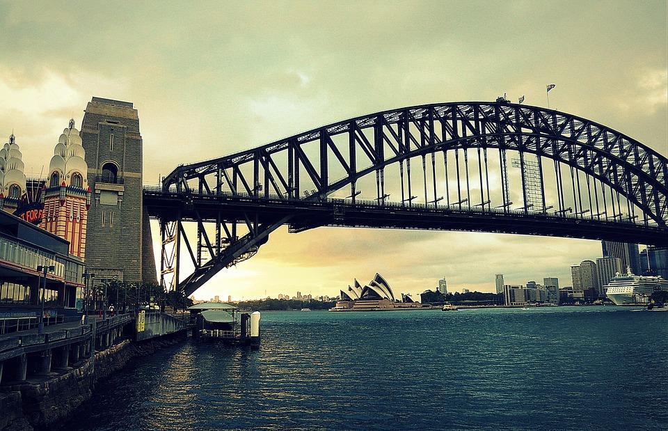 Bridge, Harbour, Sydney, Australia, Icon, Architecture