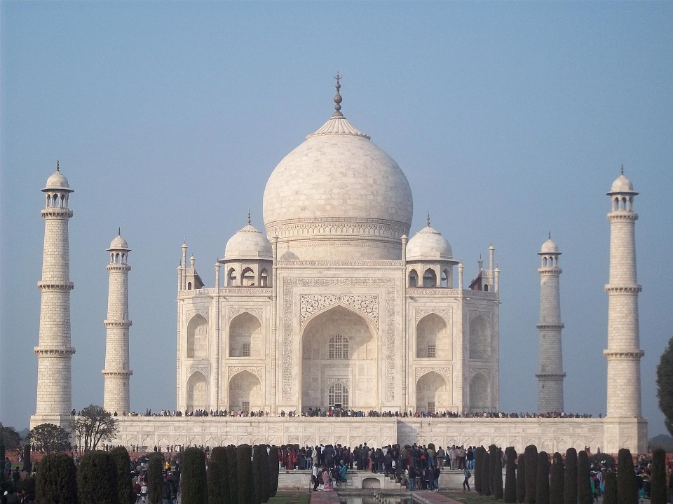 Taj Mahal, India, Agra, Architecture, Palace, Vacation