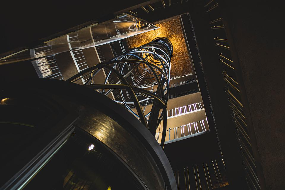 Architecture, Floors, Staircase, Interior, Building