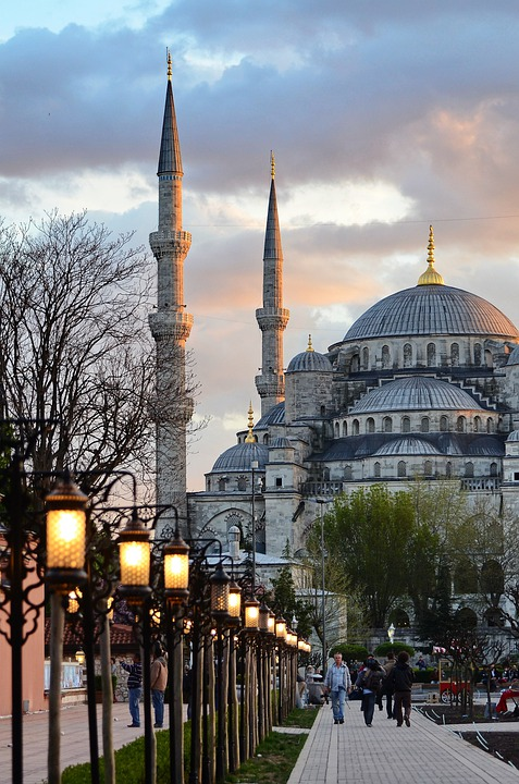 Mosque, Istanbul, Islam, Turkey, Architecture, Sunset