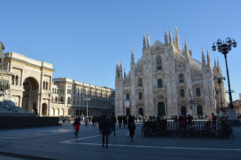 Milan, Italy, Architecture, Church, Lombardy, City