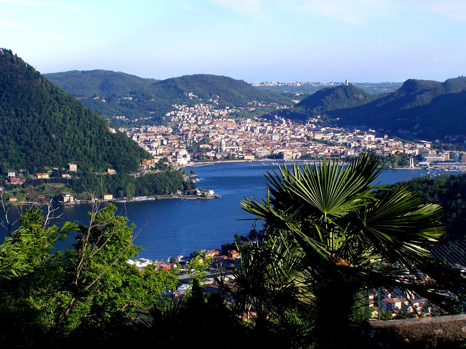Lake Como, Italy, City, Cities, Buildings, Architecture