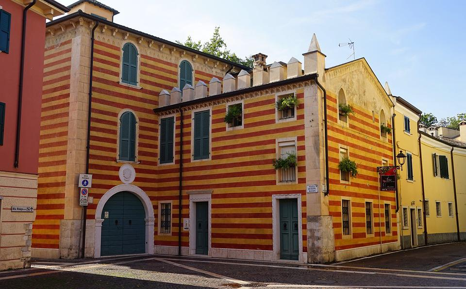 House, Colorful, Colourful Houses, Architecture, Italy