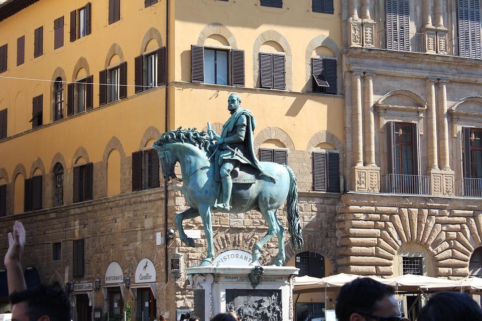 Italy, Florence, Piazza, Signoria, Della, Architecture