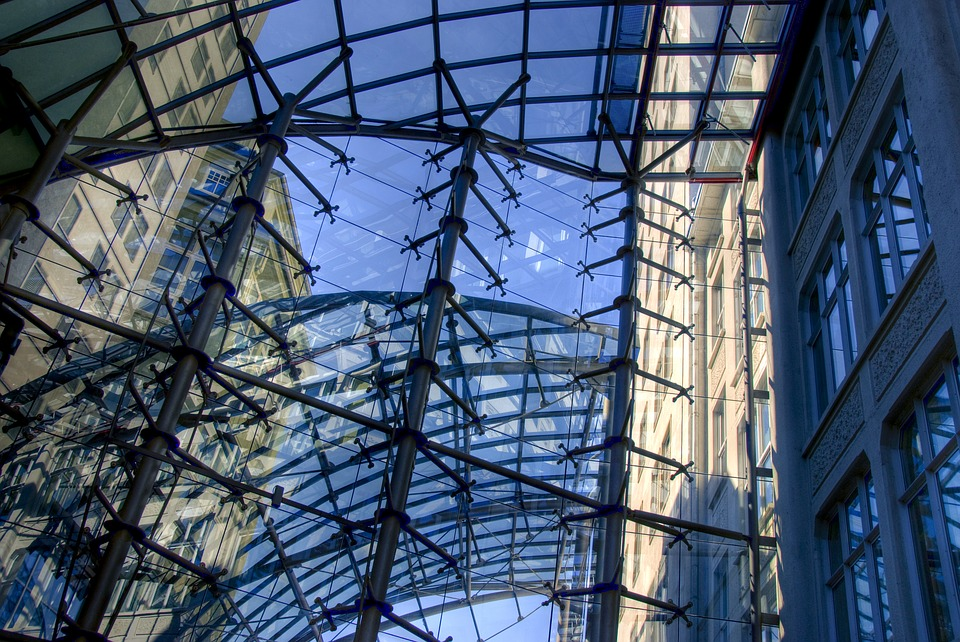Architecture, Jena, Goethe, Germany, Glass