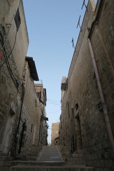 Street, On, Jerusalem, Architecture