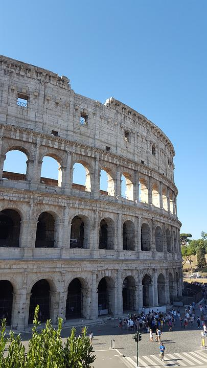 Colosseum, Rome, Roma, Italy, Landmark, Architecture