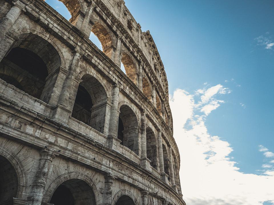 Colosseum, Rome, Tourist, Italy, Landmark, Architecture