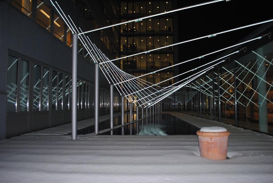 Light, Installation, Art, Architecture