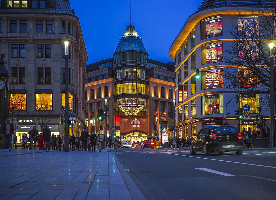 City, Night, Architecture, Lighting, Building, Urban