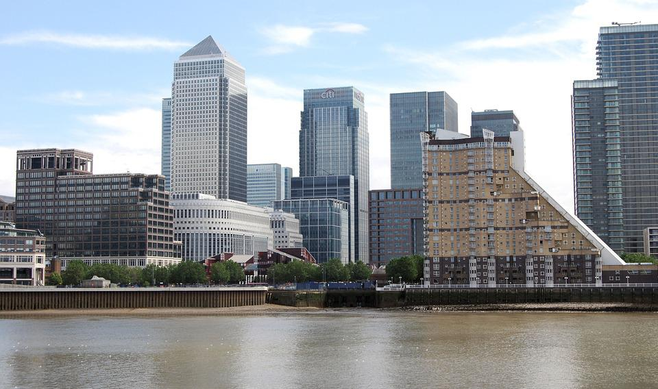 Canary Wharf, London, Business, Architecture, Cityscape