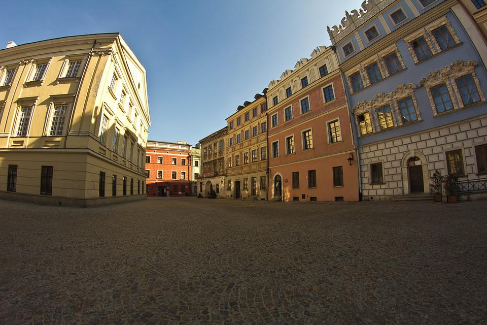 Lublin, City, Architecture, The Old Town, Monument