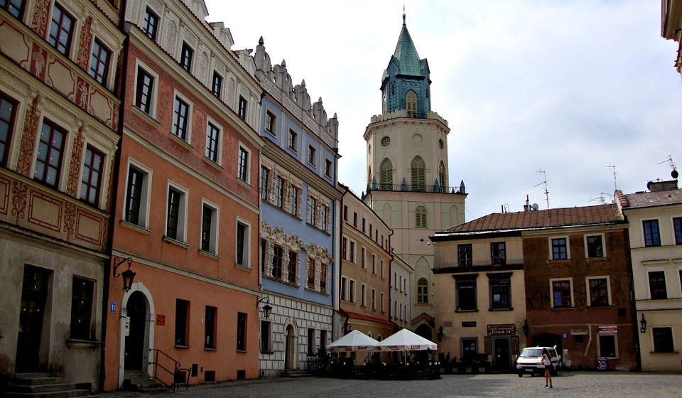 Lublin, Poland, The Old Town, Architecture, History