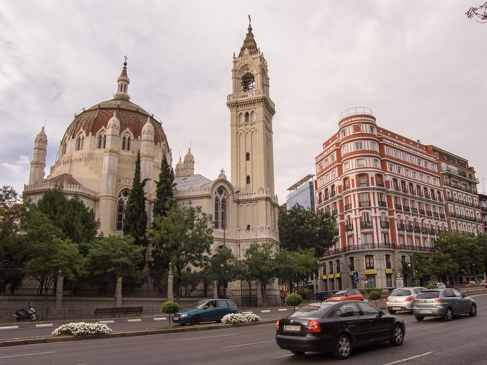 Madrid, Church, Neo Classical, Architecture