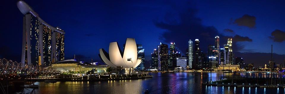 City, Singapore, Marina Bay Sands, Architecture