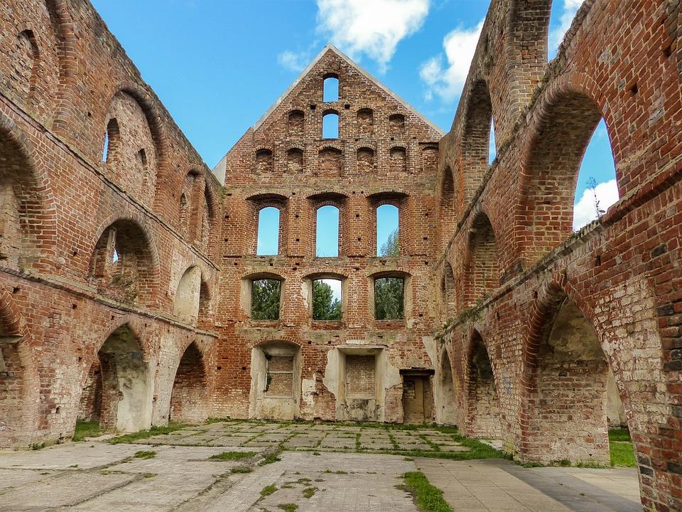Ruin, Old, Architecture, Break Up, Masonry