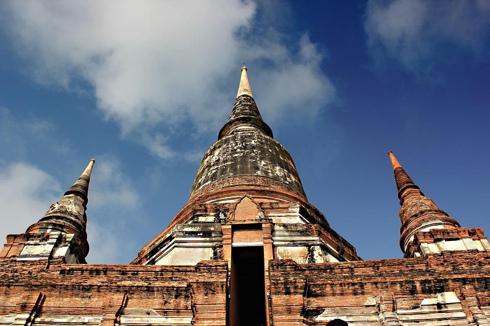 Measure, Thailand, Ayutthaya Old, Architecture
