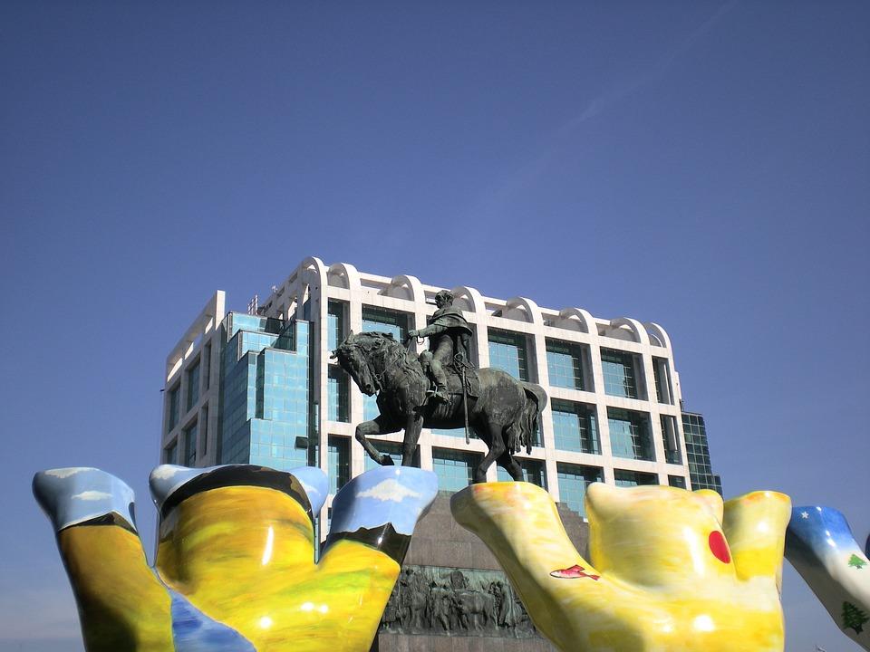 Architecture, Center, Montevideo, Uruguay
