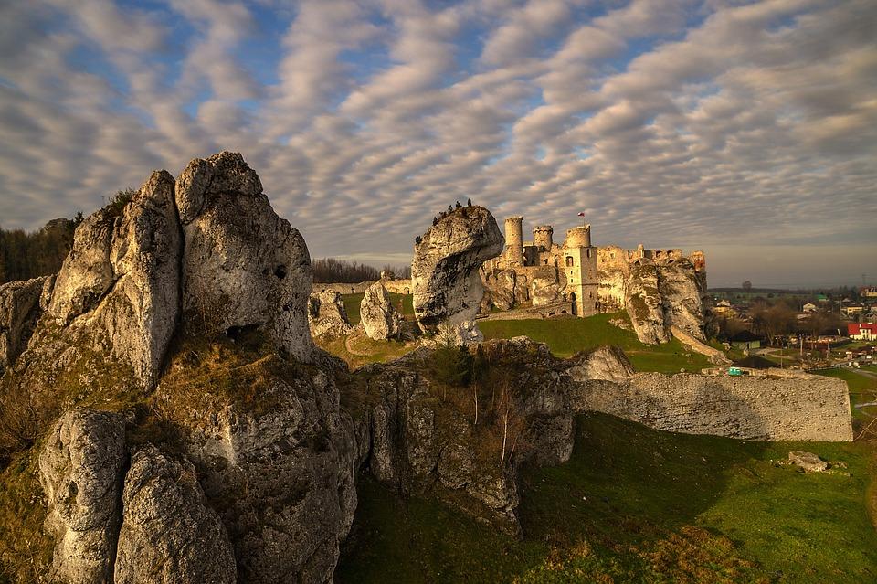 Poland, Castle, Monument, Architecture, Building