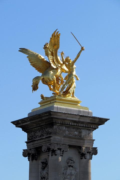 Architecture, Sculpture, Paris, Monument
