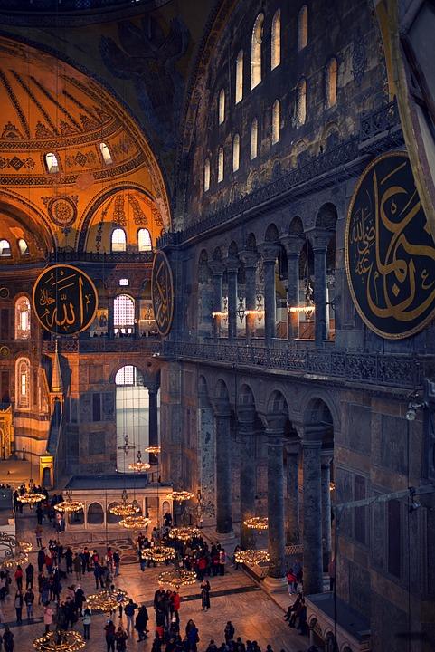 Mosque, Hagia Sophia, Turkey, Architecture, Religion