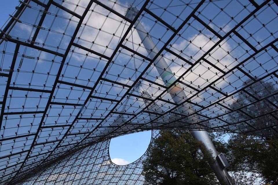 Munich, Architecture, Olympia, Olympic Stadium