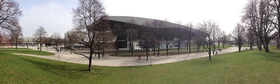 Olympic Park, Munich, Architecture, Olympic Stadium