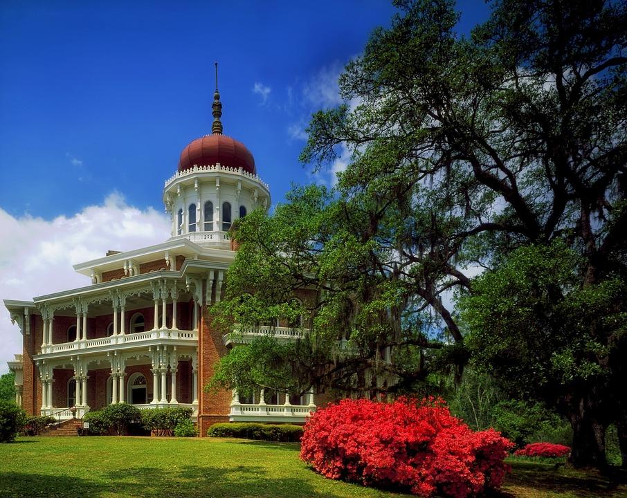 Marvelous Longwood House, Natchez, Mississippi, Architecture
