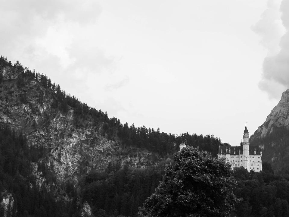 Neuschwanstein Castle, Bavaria, Germany, Architecture